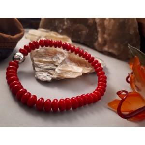 "Armband ""Iris-Red"""